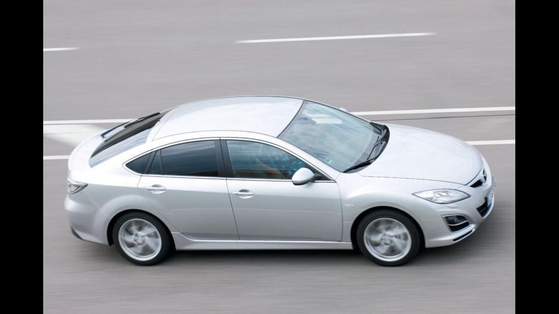 Mazda 6, Seitenansicht, Sports-Line-Ausführung