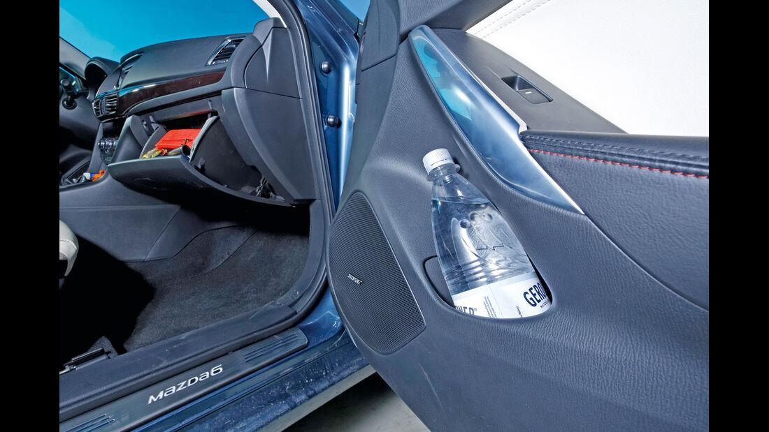 Mazda 6, Seitentür, Handschuhfach