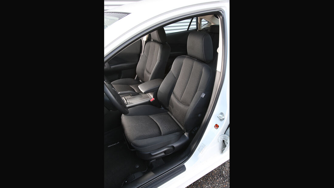 Mazda 6, Sitze