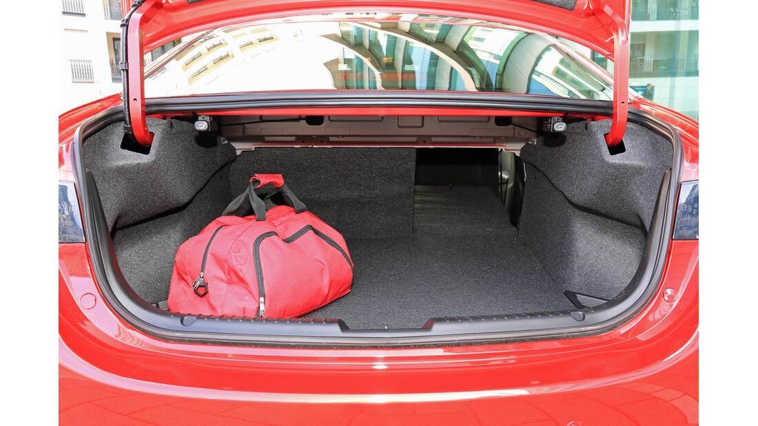 Mazda 6 Skyaktiv-D 150, Kofferraum
