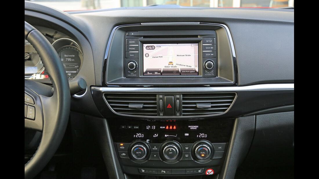 Mazda 6 Skyaktiv-D 150, Navi, Infotainemnet