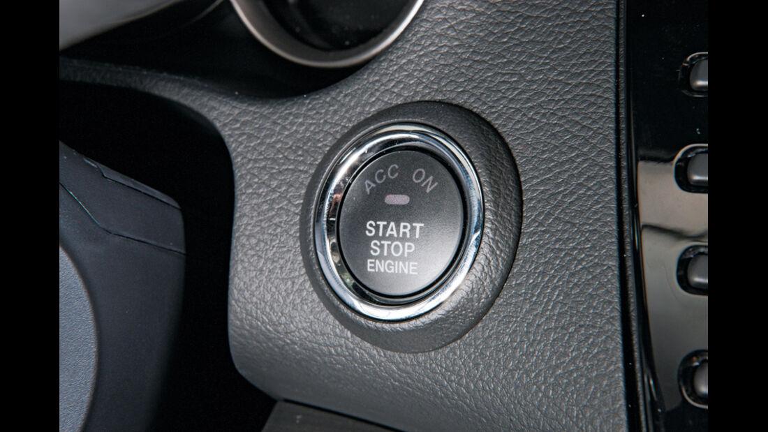 Mazda 6, Start-Stopp-Automatik, Knopf, Detail