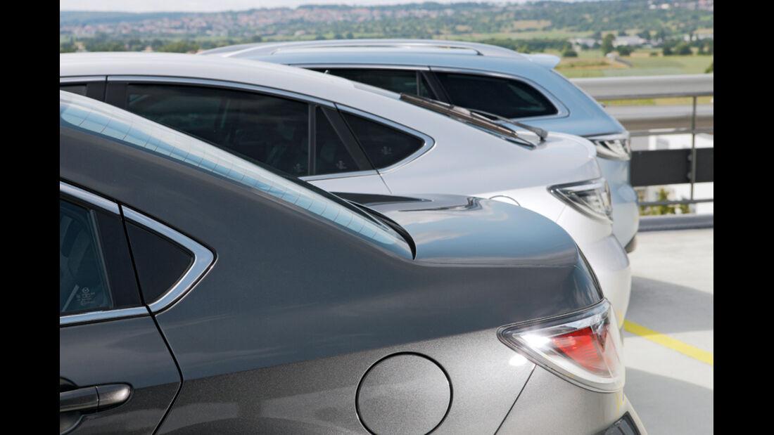 Mazda 6, Stufenheck, Fliessheck, Kombi