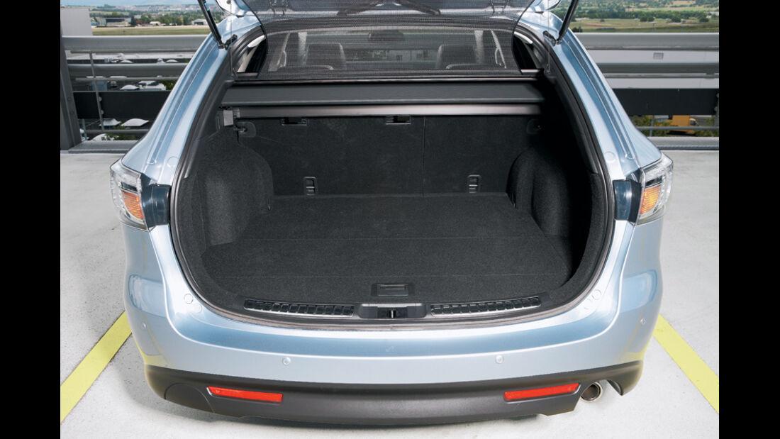 Mazda 6, Stufenheck, Kofferraum