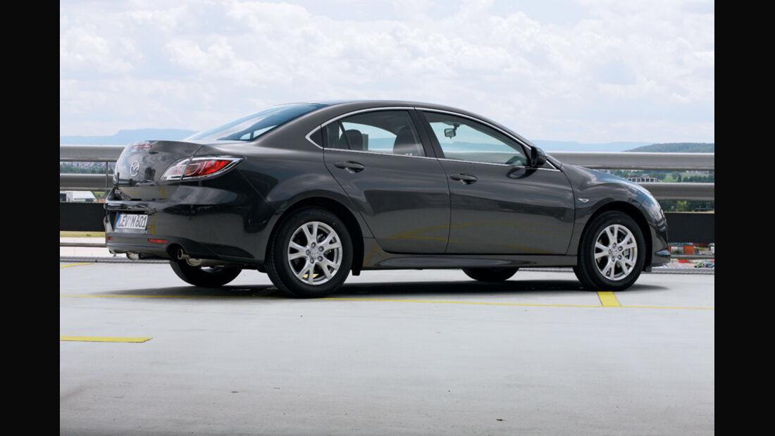 Mazda 6, Stufenheck, Seitenansicht