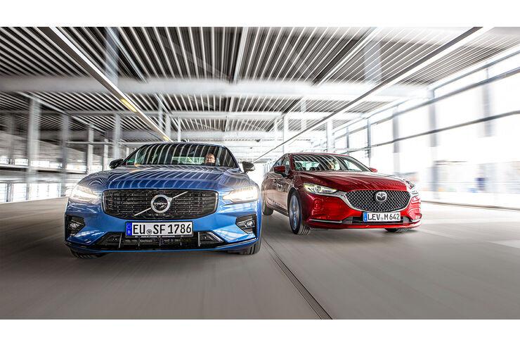 Mazda-6-G-194-gegen-Volvo-S60-B4-Exoten-im-Limousinenkleid