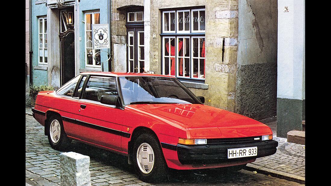 Mazda 929 Coupé, Frontansicht