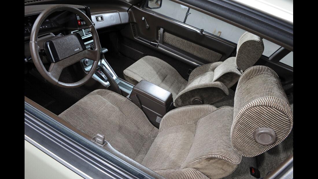 Mazda 929 Coupe, Cockpit, Detail