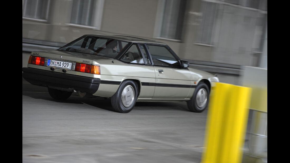 Mazda 929 Coupe, Heck