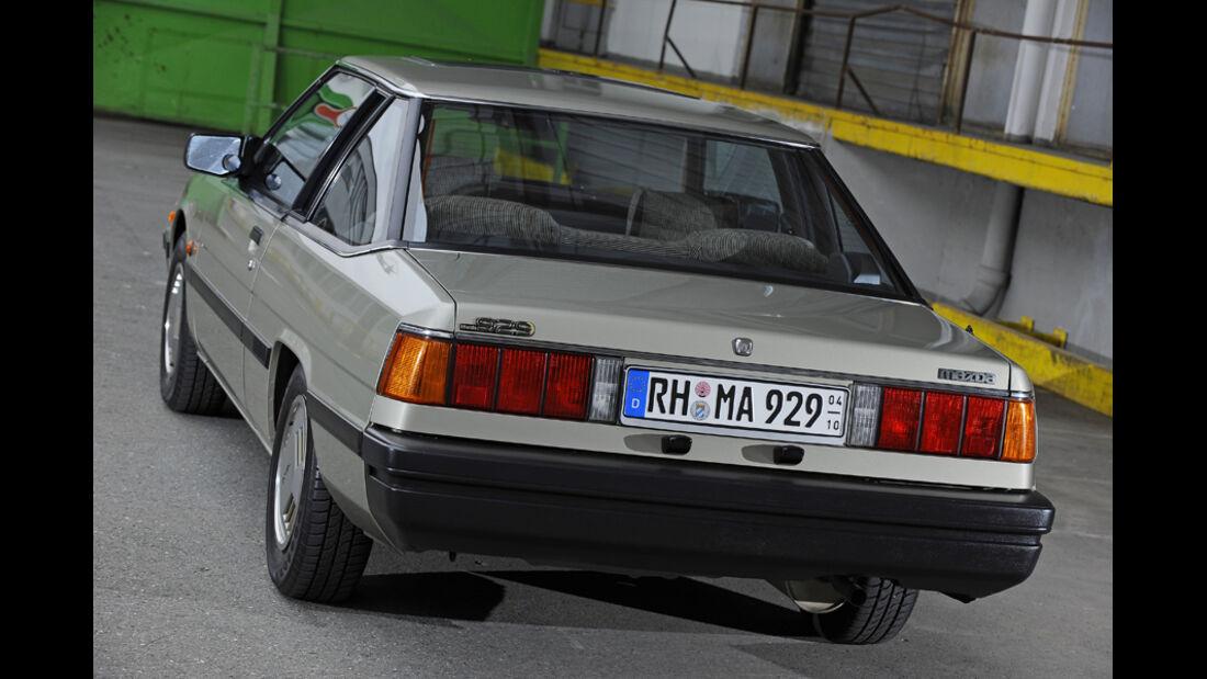 Mazda 929 Coupe, Heck, Hecklichter, Detail