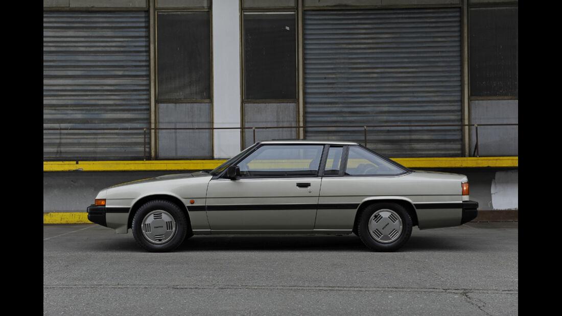 Mazda 929 Coupe, Seitenansicht