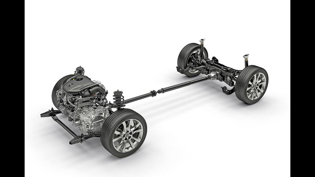 Mazda, Allradantrieb