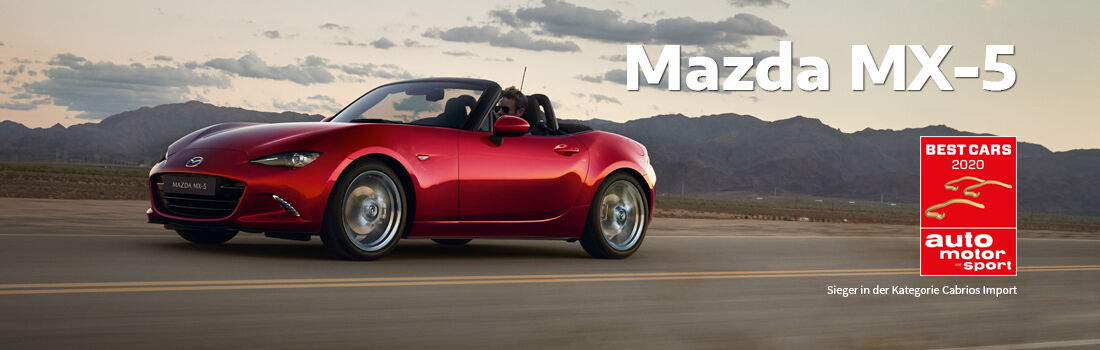 Mazda Banner Best Cars 2020