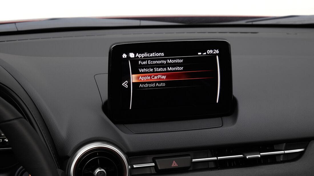 Mazda CX-3 (2021), Interieur