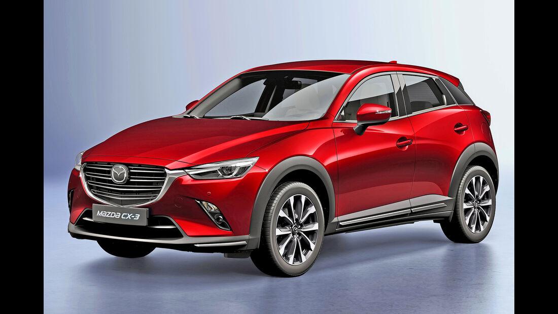 Mazda CX-3, Best Cars 2020, Kategorie I Kompakte SUV/Geländewagen