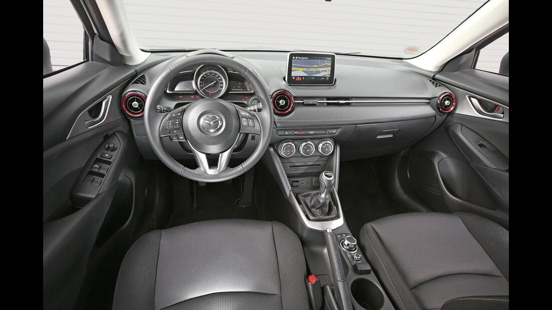 Mazda CX-3 -D 105 Exclusive- Line, Cockpit