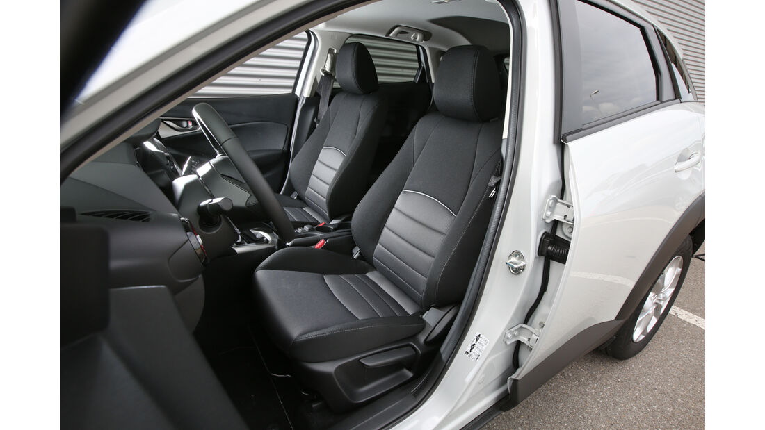 Mazda CX-3 -D 105 Exclusive- Line, Fahrersitz