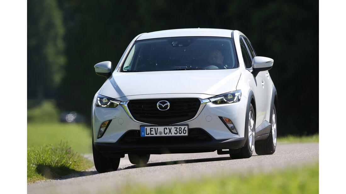 Mazda CX-3 -D 105 Exclusive- Line, Frontansicht