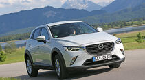 Mazda CX-3 -D 105 Exclusive- Line, Frontansicht