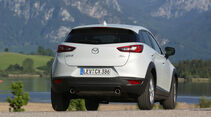 Mazda CX-3 -D 105 Exclusive- Line, Heckansicht