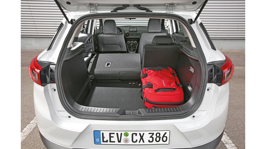 Mazda CX-3 -D 105 Exclusive- Line, Kofferraum