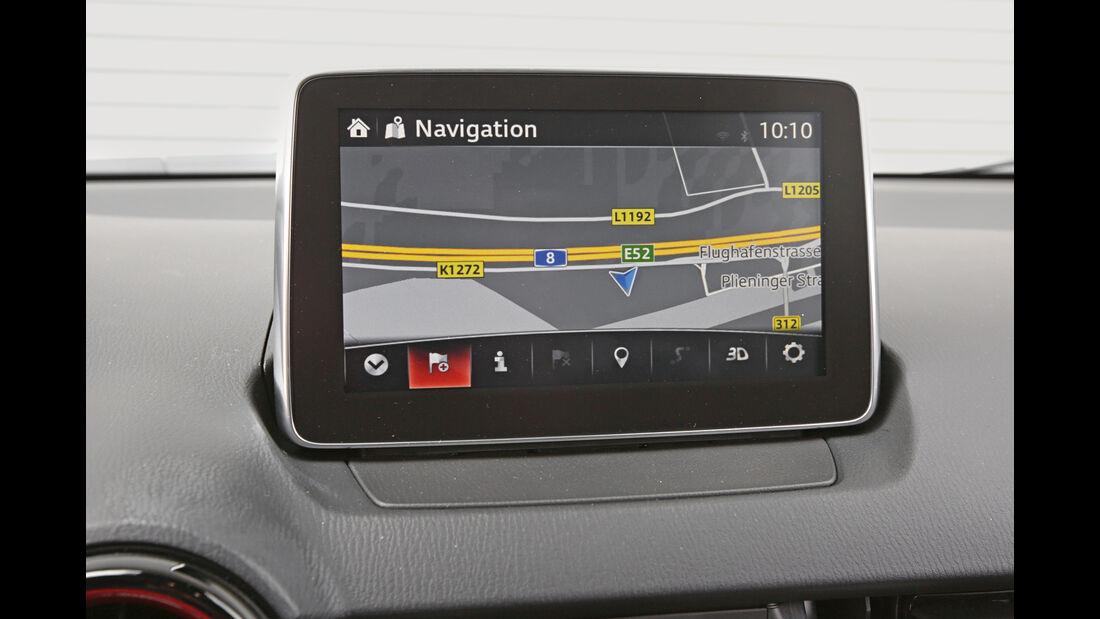 Mazda CX-3 -D 105 Exclusive- Line, Monitor