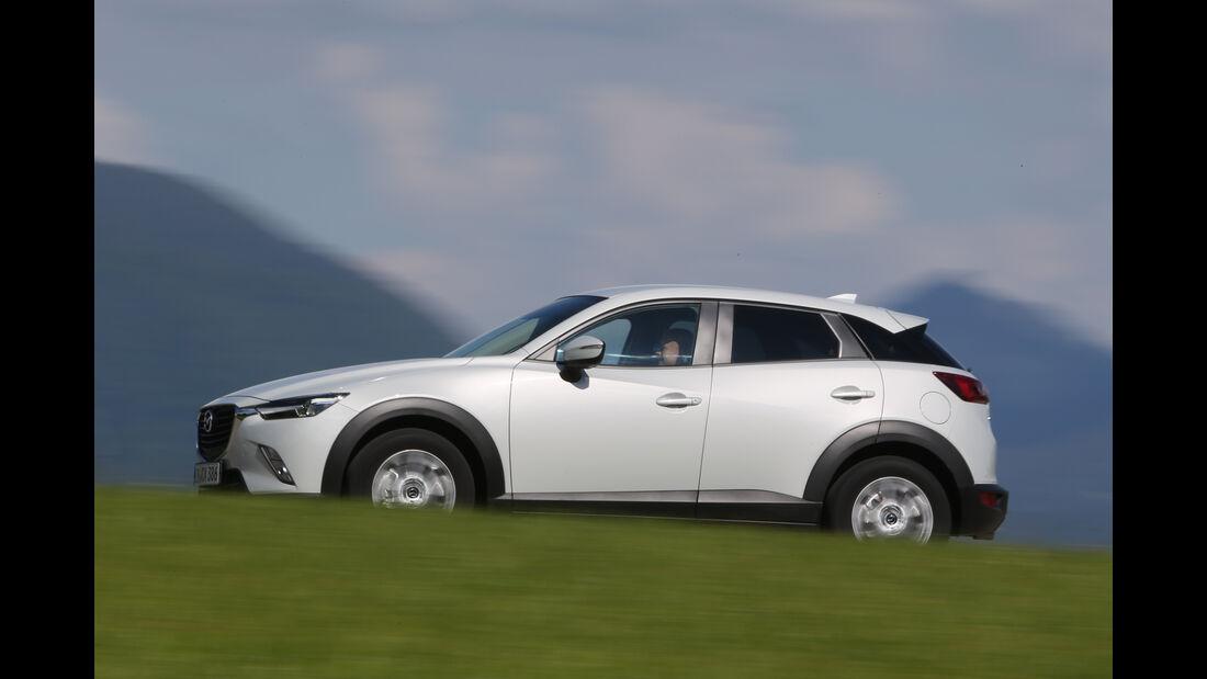 Mazda CX-3 -D 105 Exclusive- Line, Seitenansicht