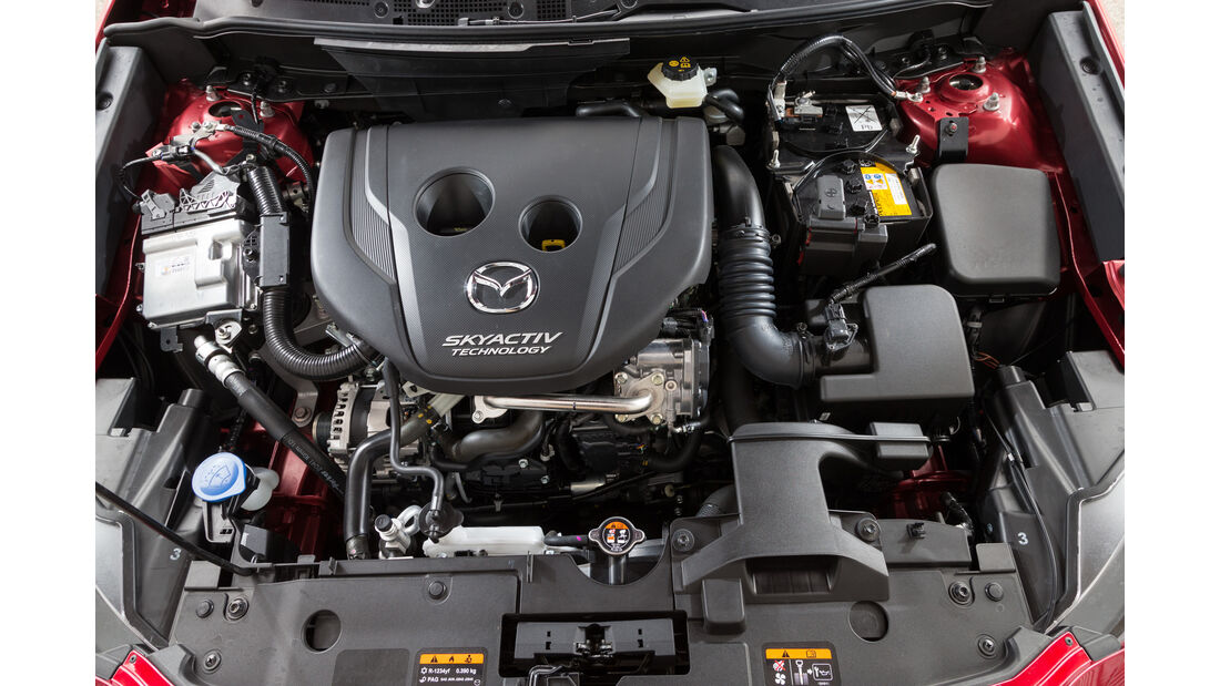 Mazda CX-3 D 105, Motor