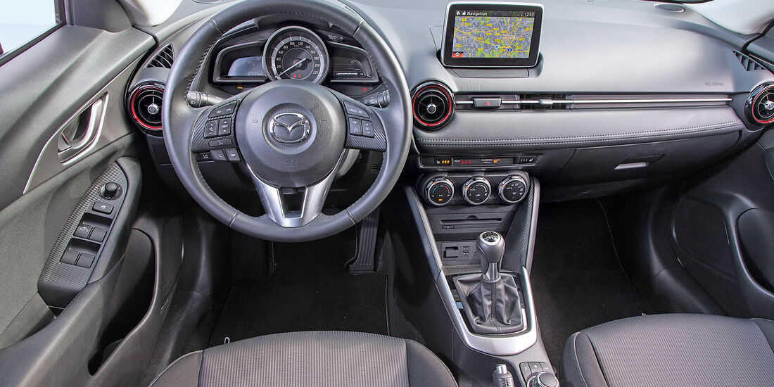 Mazda CX-3 D 105, Rundinstrumente