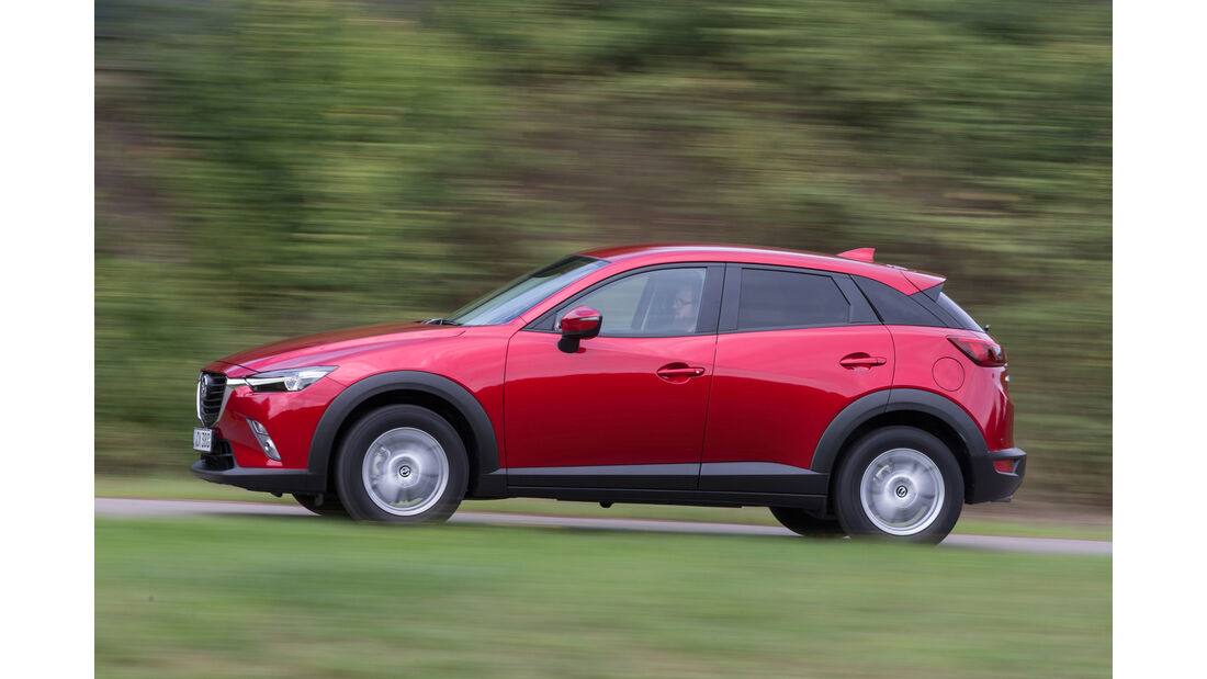 Mazda CX-3 D 105, Seitenansicht