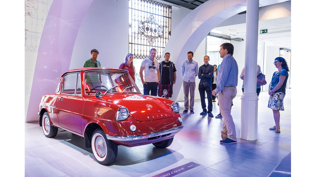 Mazda CX-3 Discovery Tour, Mazda Space Barcelona