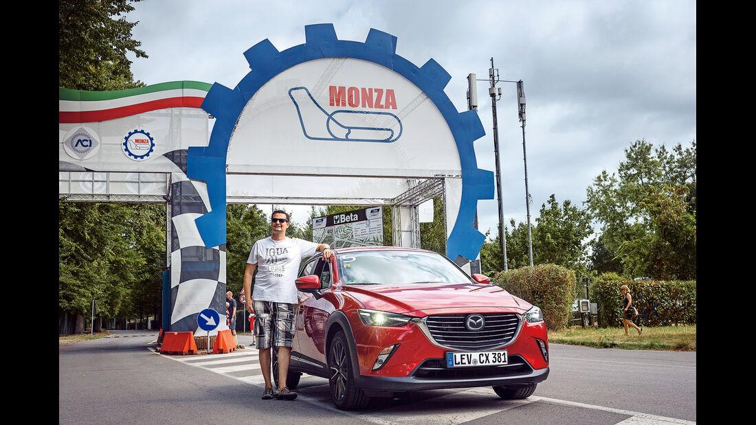 Mazda CX-3 Discovery Tour, Monza