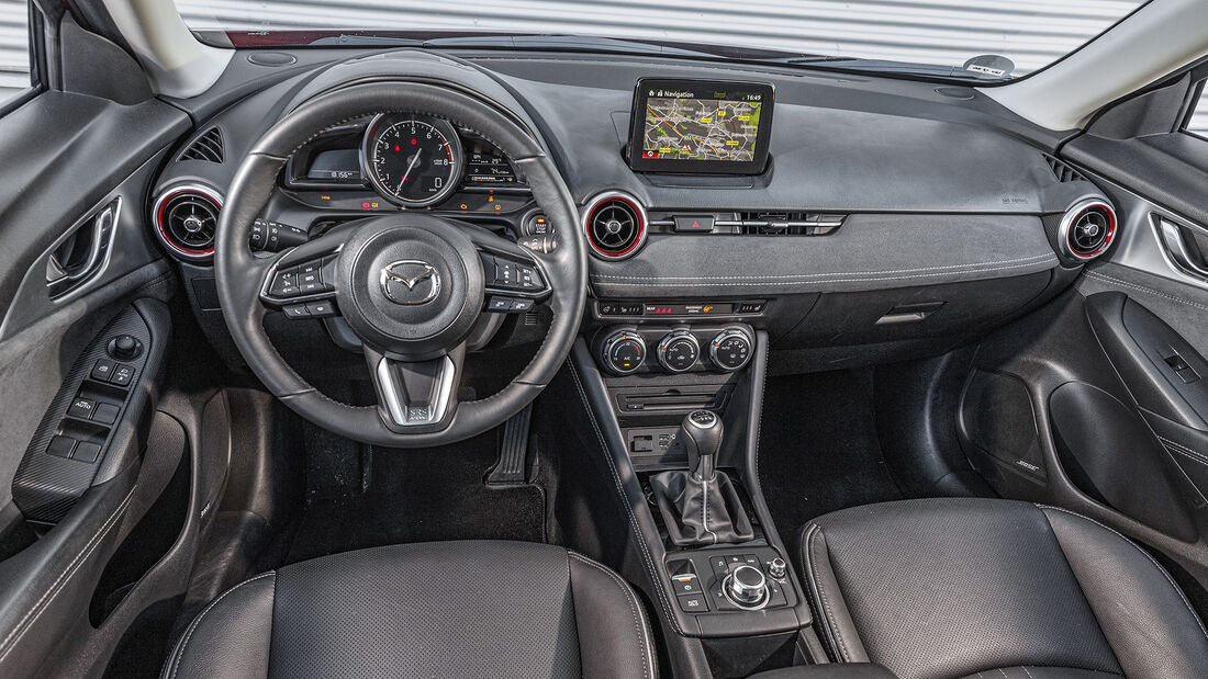 Mazda CX-3 G 121, Interieur