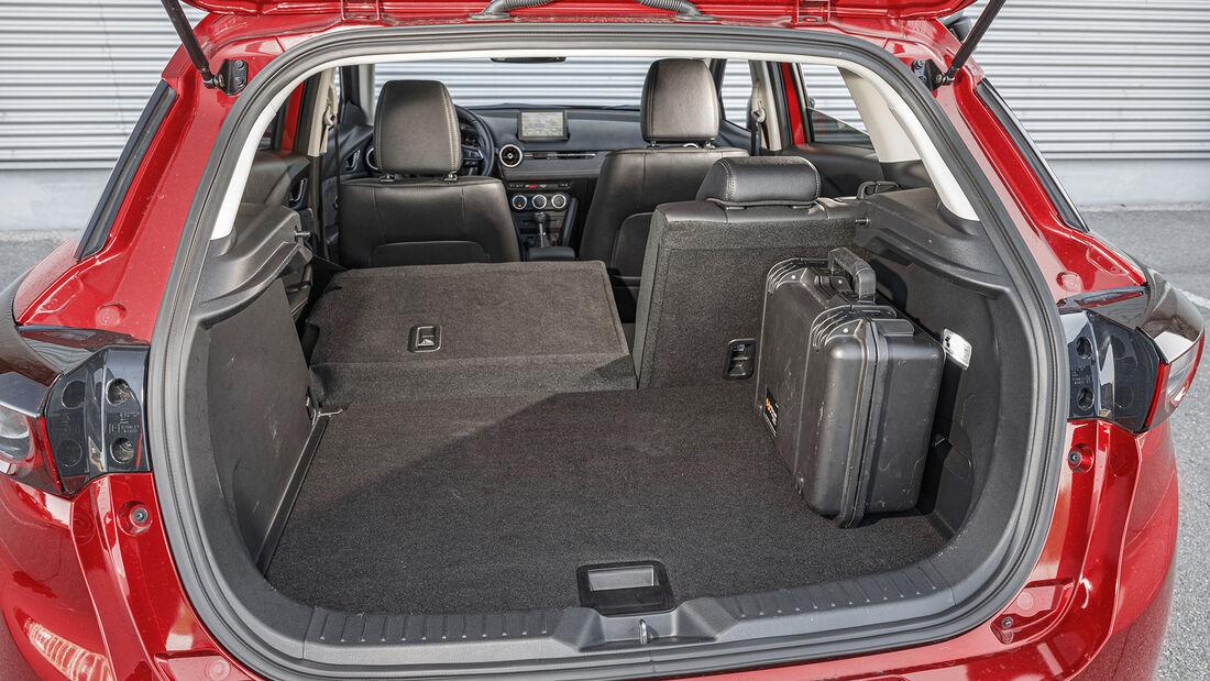 Mazda CX-3 G 121, Kofferraum