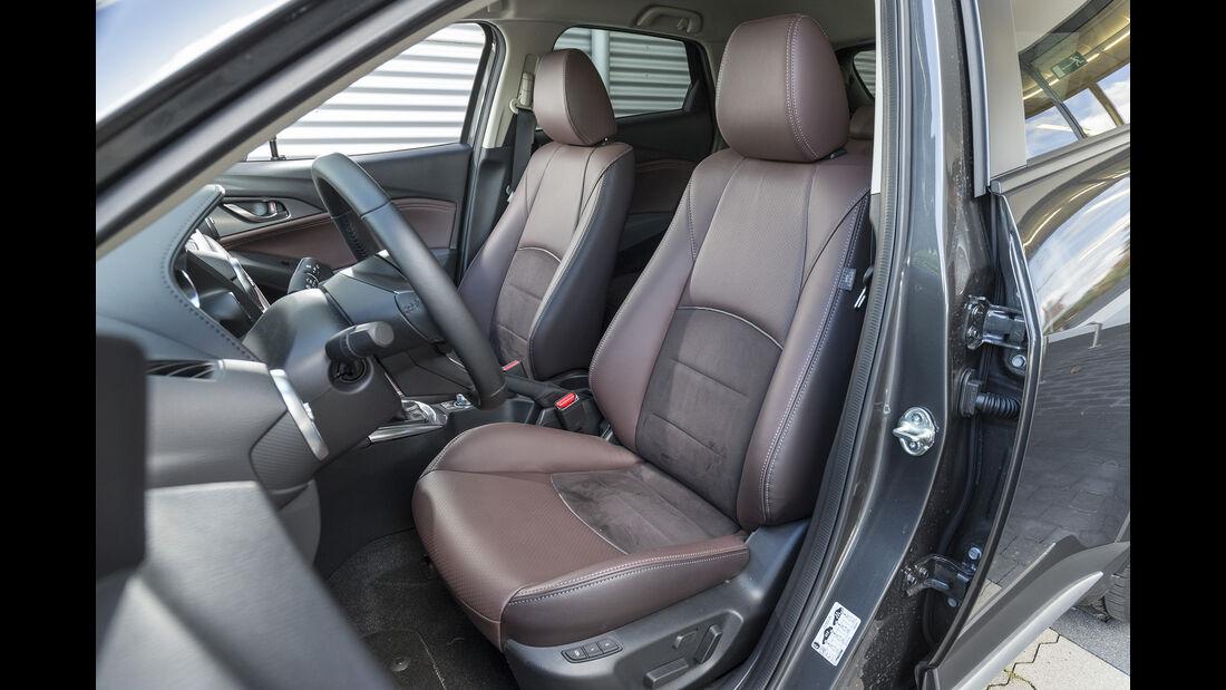 Mazda CX-3 G 150 AWD (DJ1), Interieur