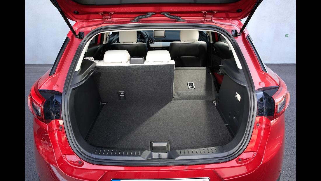 Mazda CX-3 G 150 AWD, Kofferraum