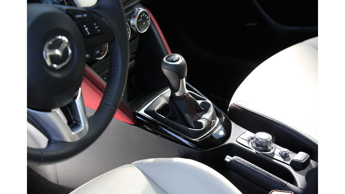 Mazda CX-3 G 150 AWD, Schalthebel
