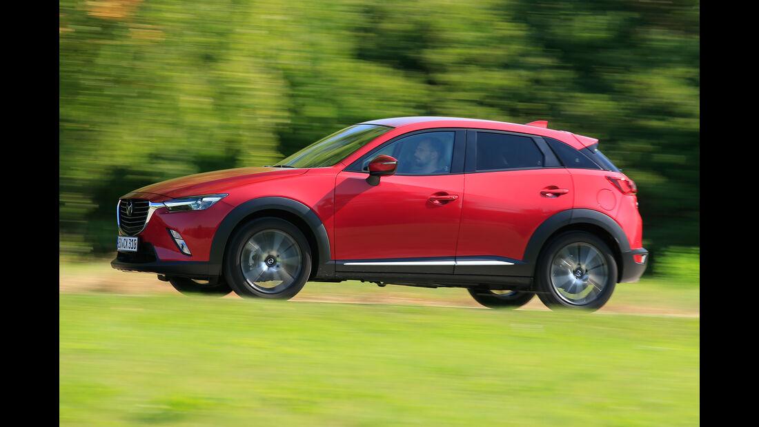 Mazda CX-3 G 150 AWD, Seitenansicht