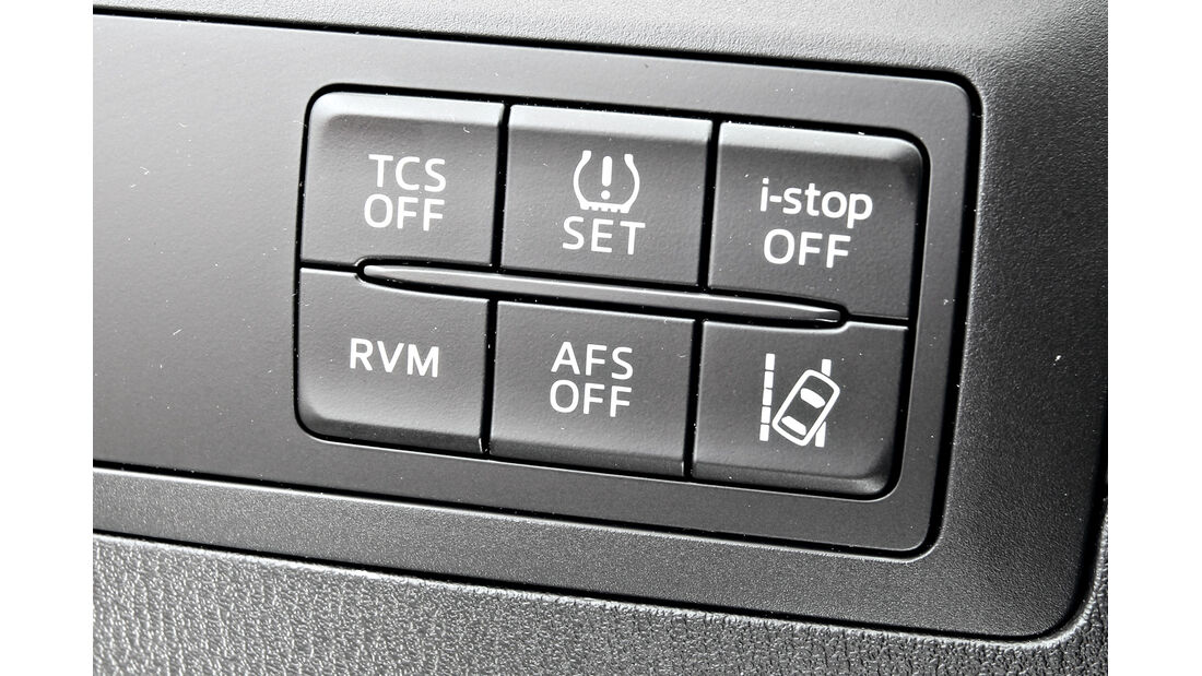 Mazda CX-5 2.0 Skyactiv-G AWD, Bedienelemente