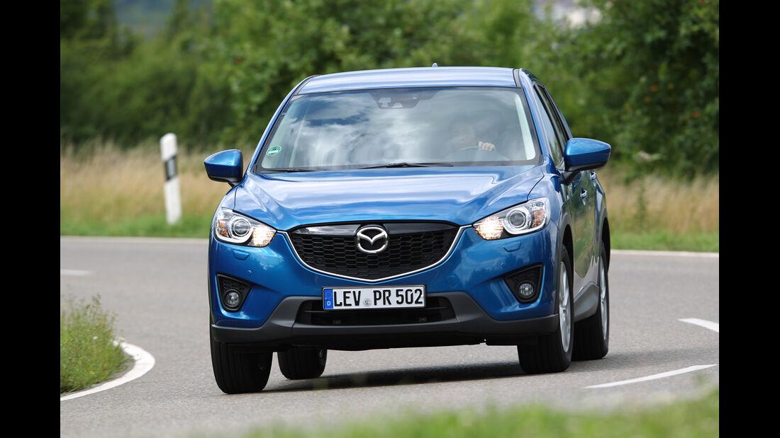 Mazda CX-5 2.0 Skyactiv-G AWD, Frontansicht
