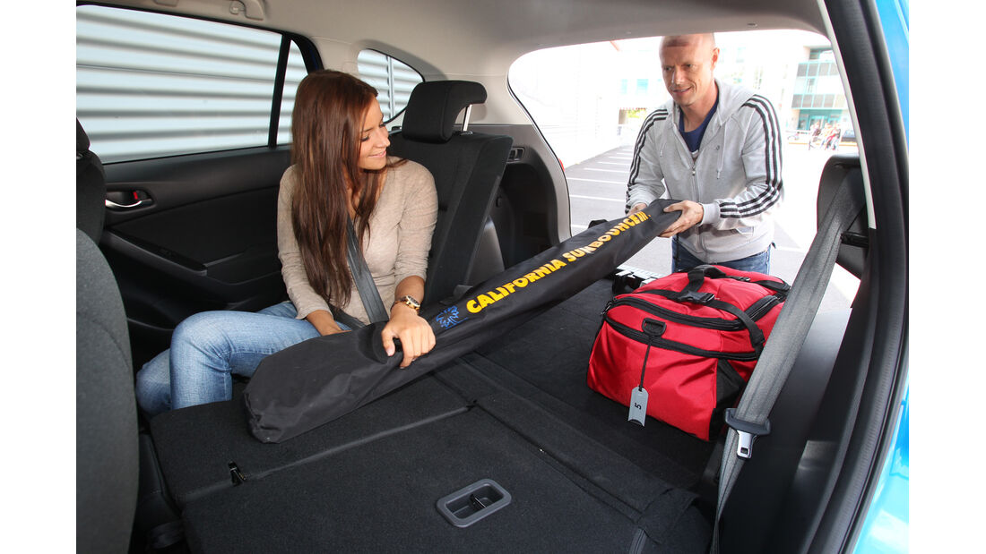 Mazda CX-5 2.0 Skyactiv-G AWD, Rücksitz, umklappen