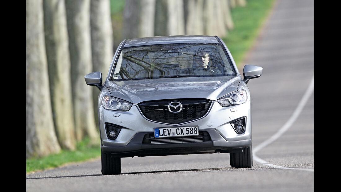 Mazda CX-5 2.2 D AWD, Frontansicht