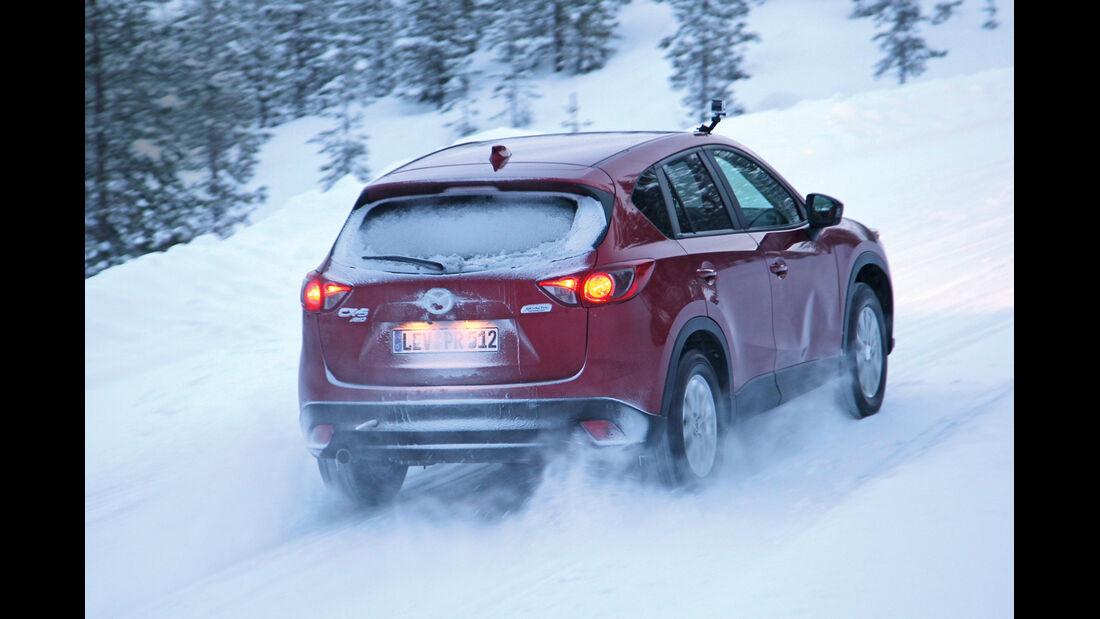 Mazda CX-5 2.2 D AWD, Heckansicht