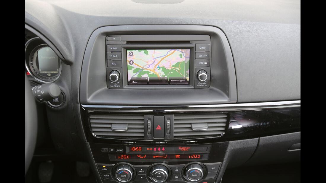 Mazda CX-5 2.2 D, Navi, Bildschirm