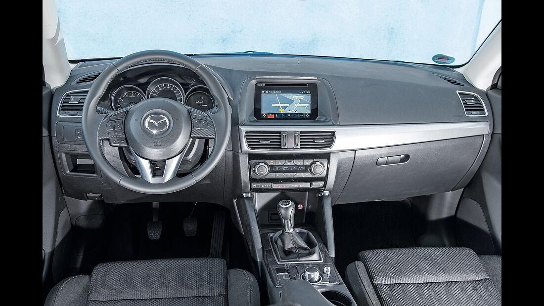 Mazda CX-5, Cockpit