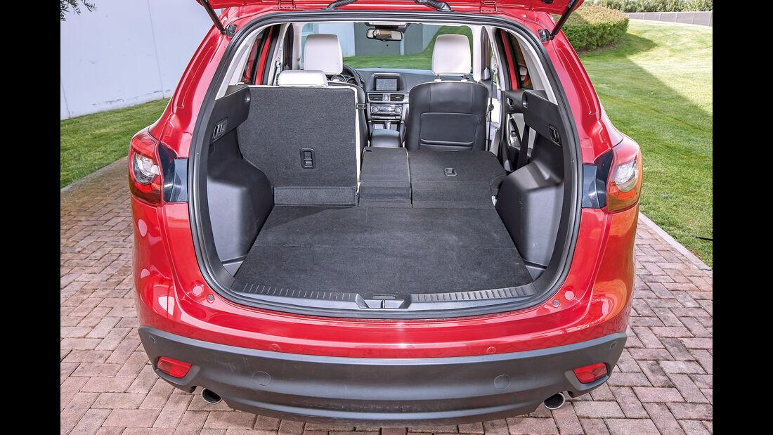 Mazda CX-5 D 175 AWD, Rücksitzlehnen