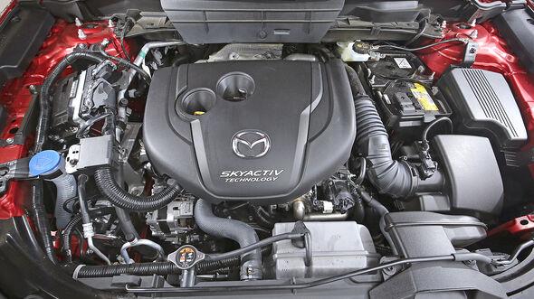 Mazda CX-5 D 175 AWD Sports-Line, Motor
