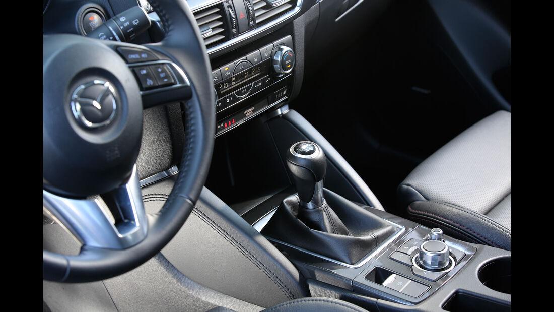 Mazda CX-5 G 150 AWD, Schalthebel