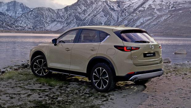 Mazda CX-5 Modellpflege 2022
