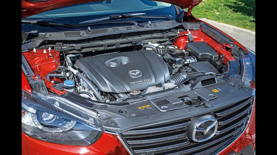 Mazda CX-5, Motor